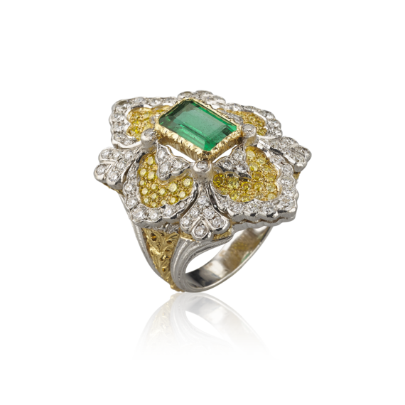 Rings buccellati official opera. Vector diamonds vintage diamond banner free library