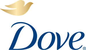 Vector doves logo. Dove chocolate logos