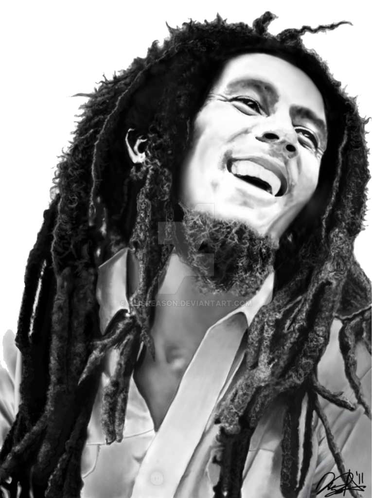 Vector dreads png. Bob marley file clipart