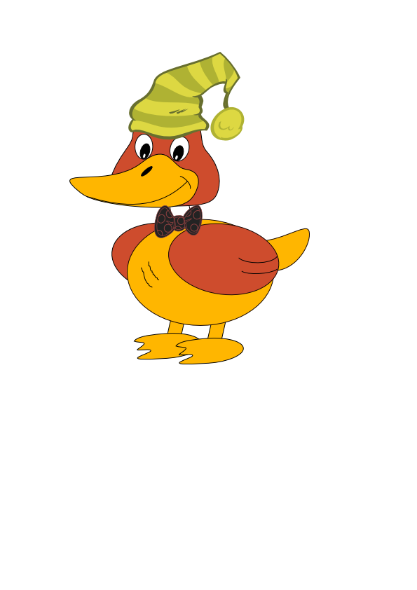 Vector duck royalty free. Images at clker com