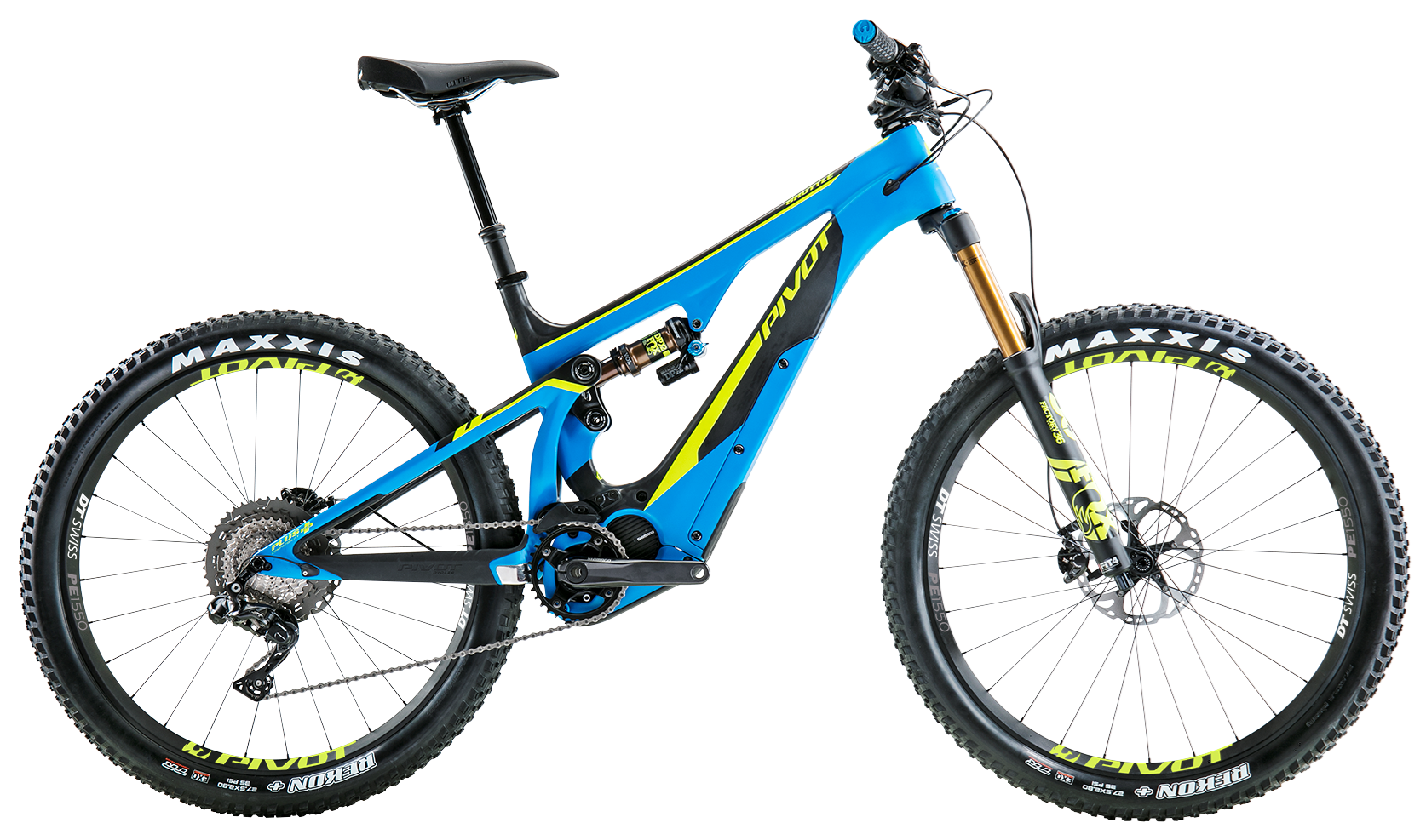 Vector ebike electric bicycle. Pivot cycles shuttle
