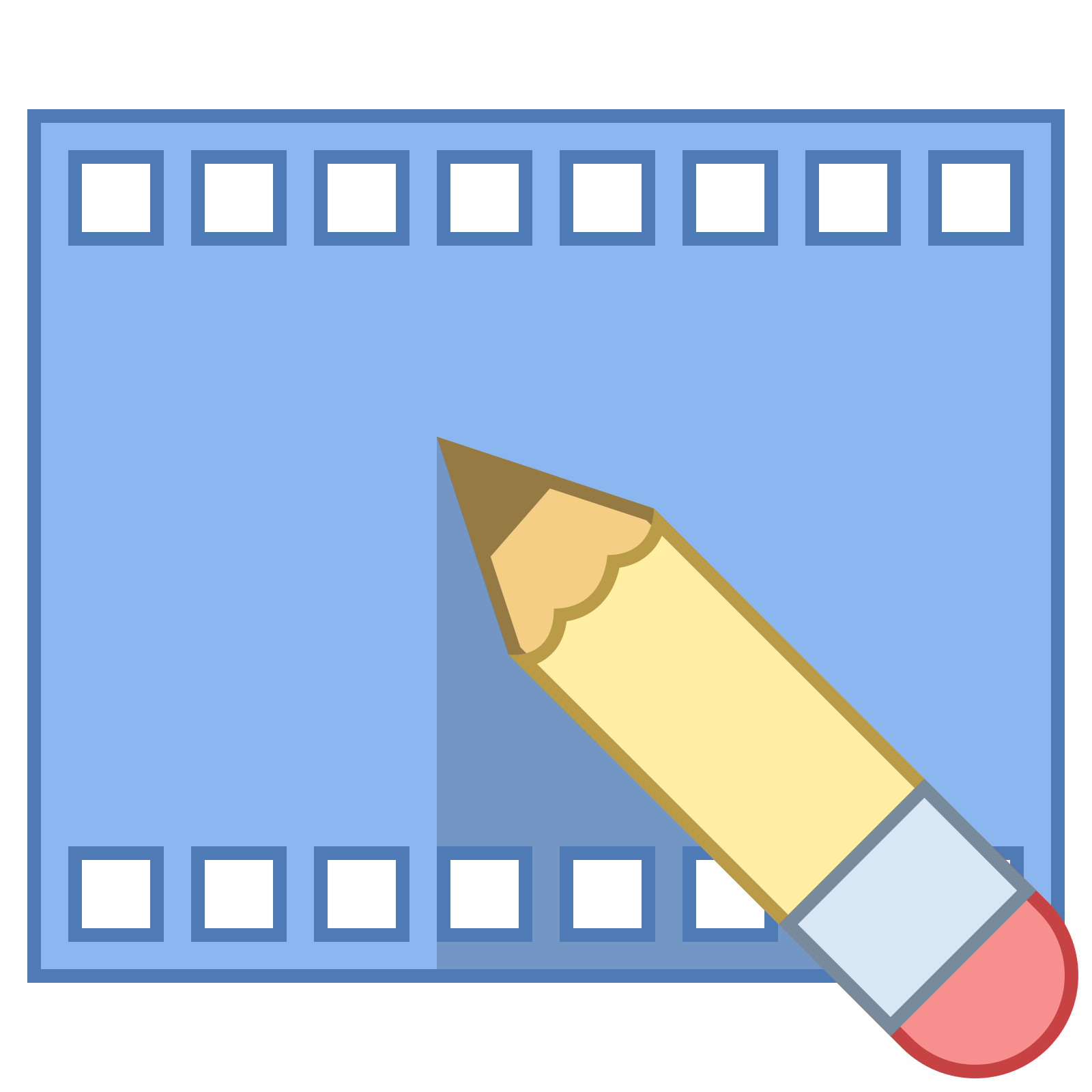 Video icon free download. Vector editing videography png