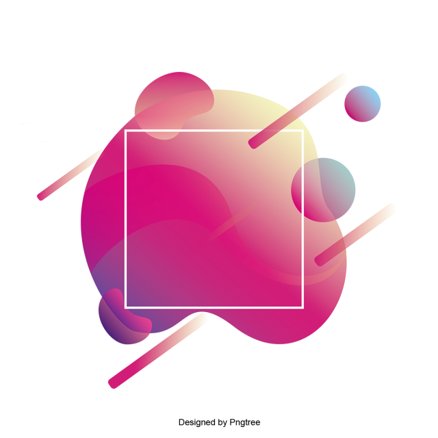 Vector effect abstract. Frame with fashion gradients