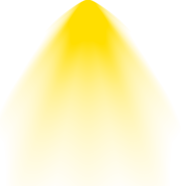 Vector effects. Light background png yellow