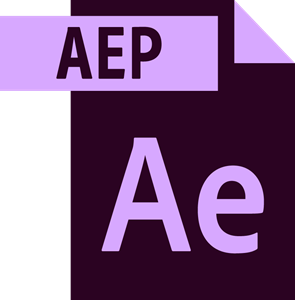 Vector effects text. Adobe after file logo