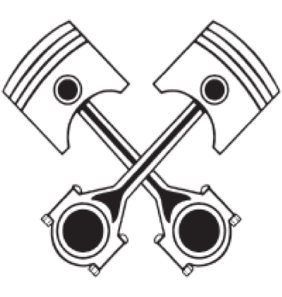Vector engine. Clip black and