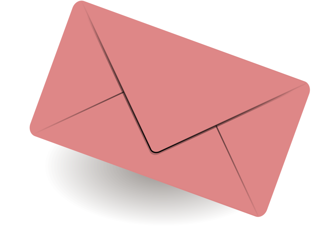 Vector envelope pink. Email computer icons united