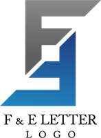 Vector f letter. Logo ai free download