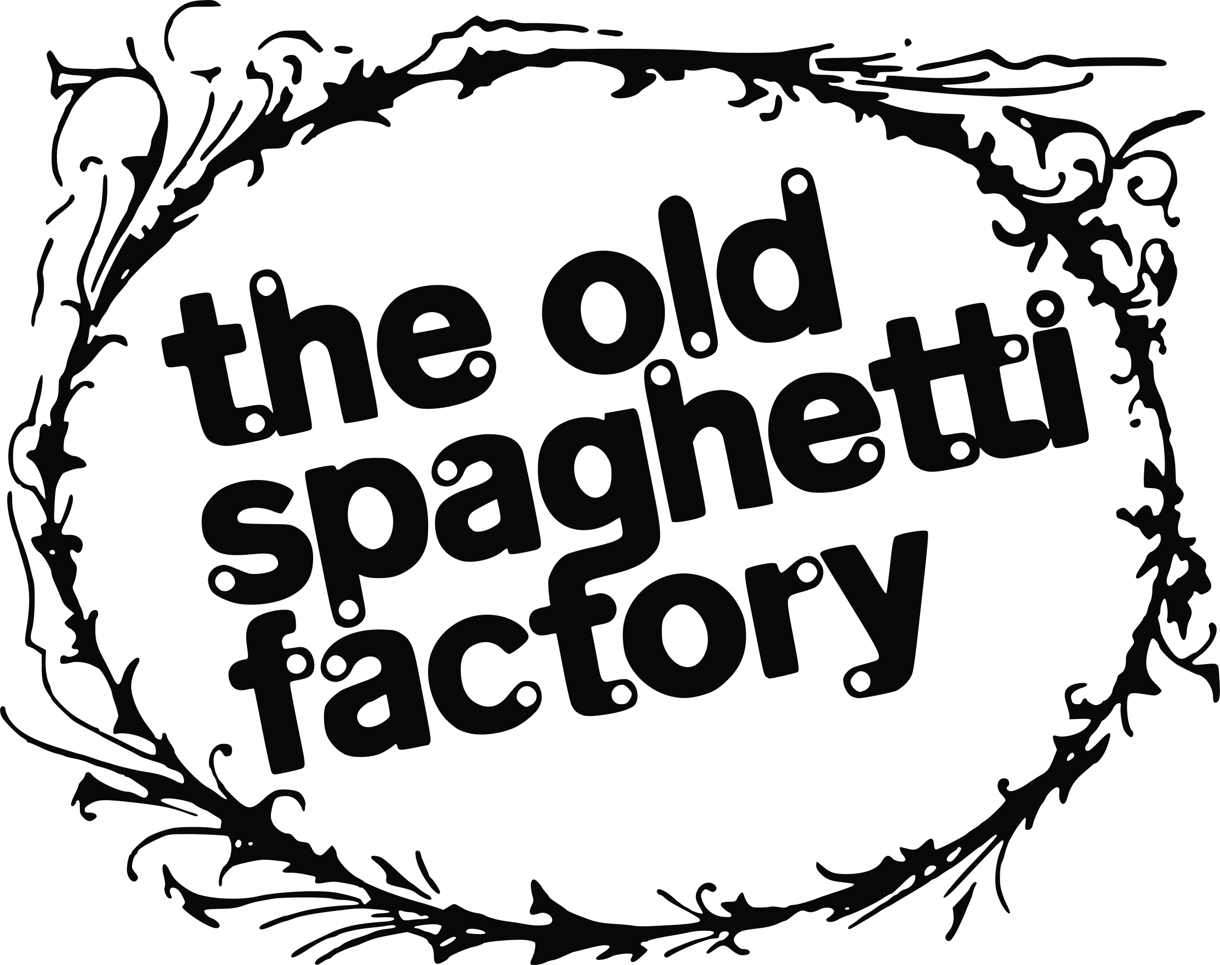 Vector factory old. Spaghetti logo png transparent