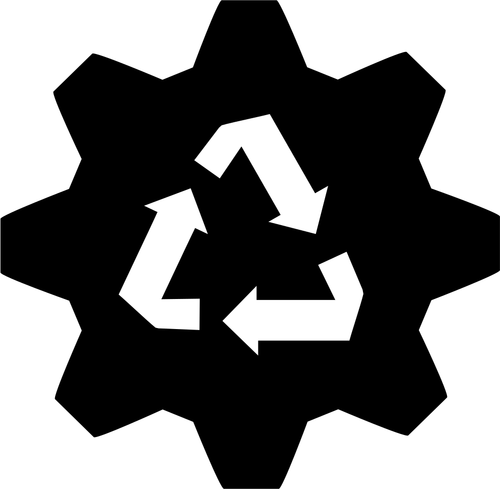 Vector factory recycling. Svg png icon free