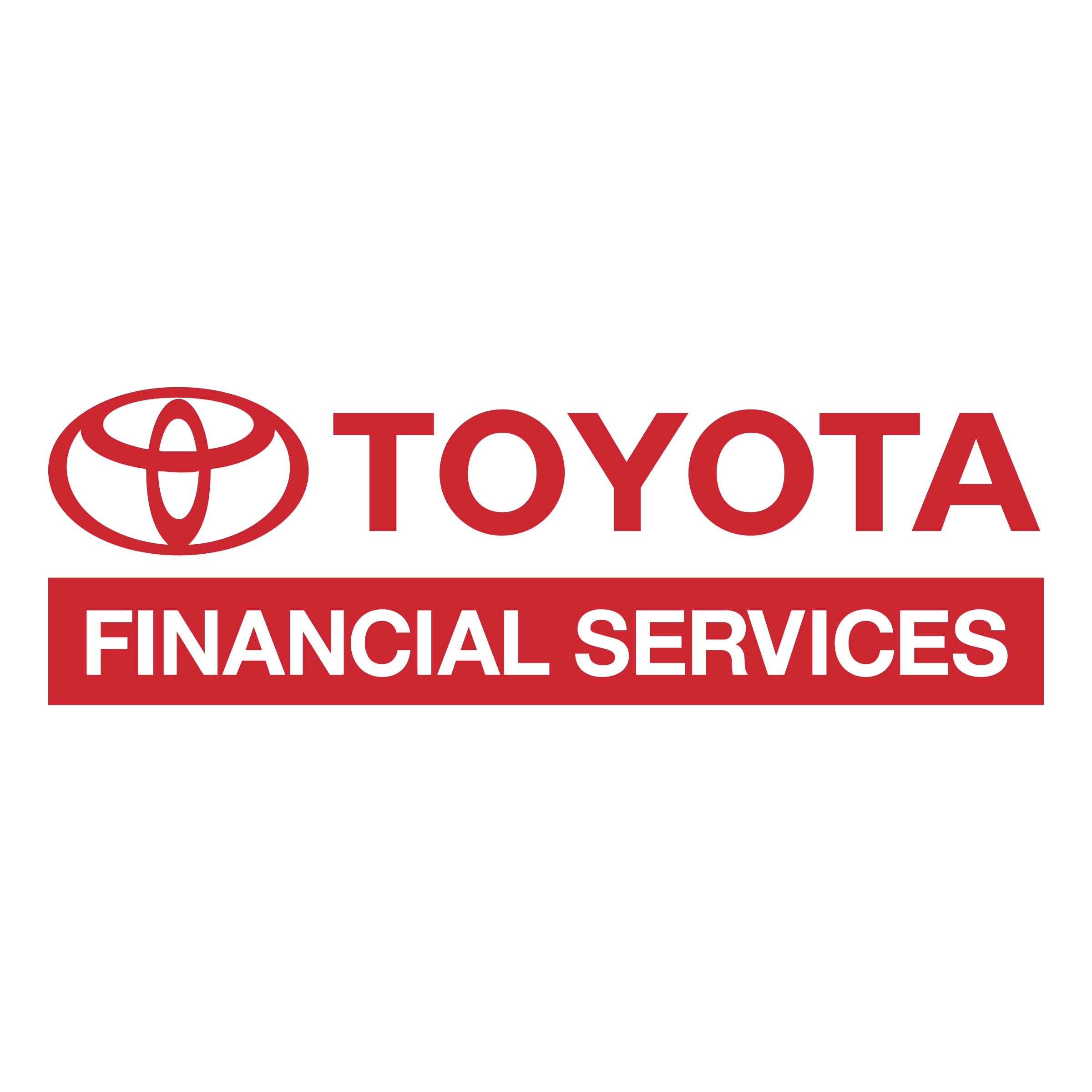 Vector financial png. Toyota services logo transparent