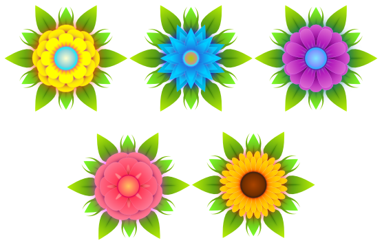 Vector flowers png. Clipartist net clip art