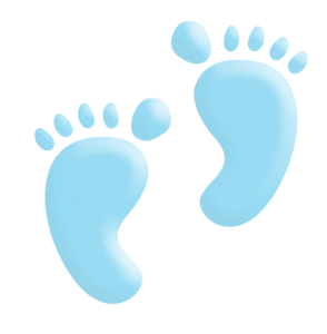 Vector footprints baby boy. Pinterest babies and cards