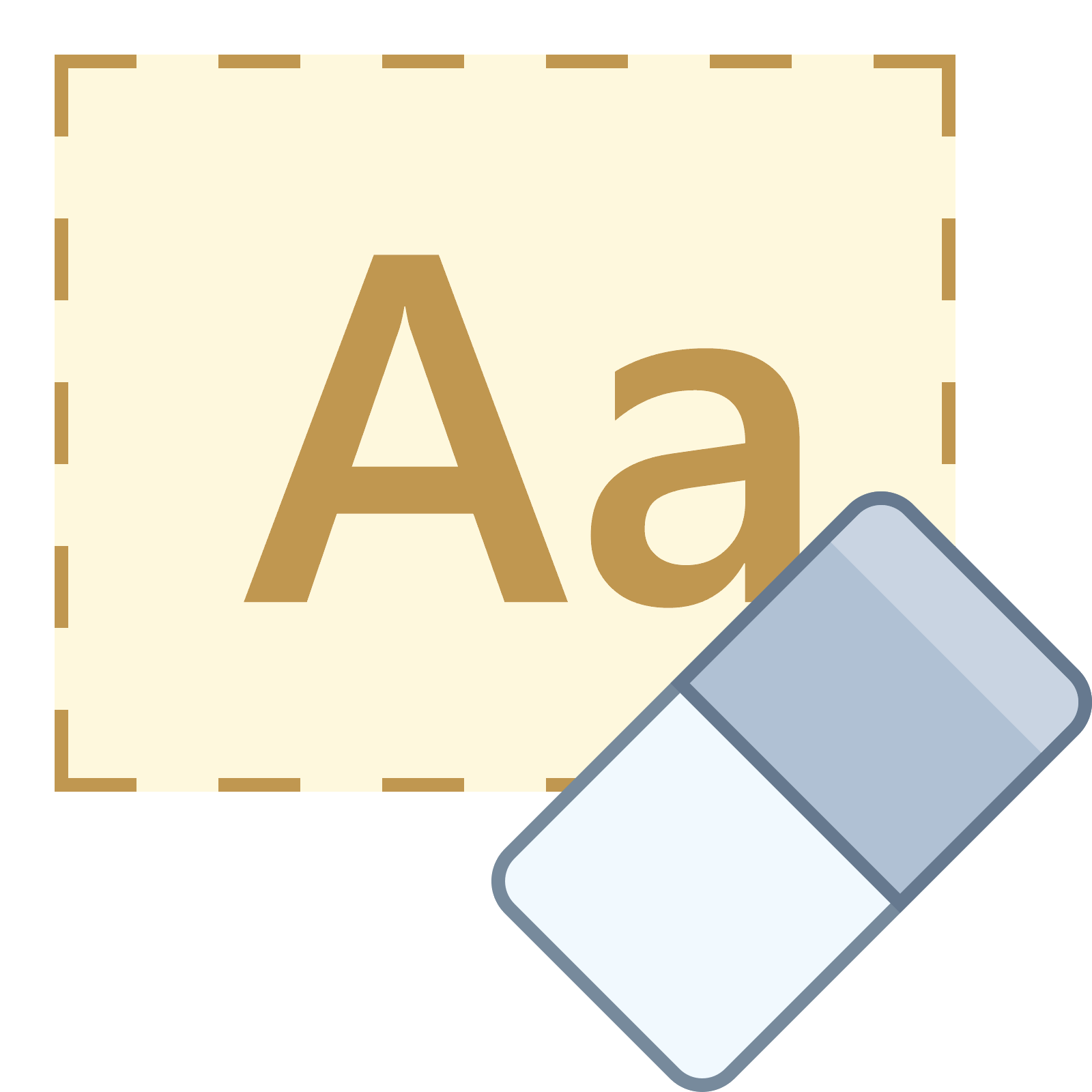 Vector formatting. Clear icon free download