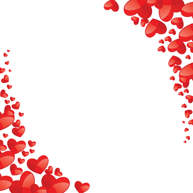 Heart vector png. Beautiful frame red and