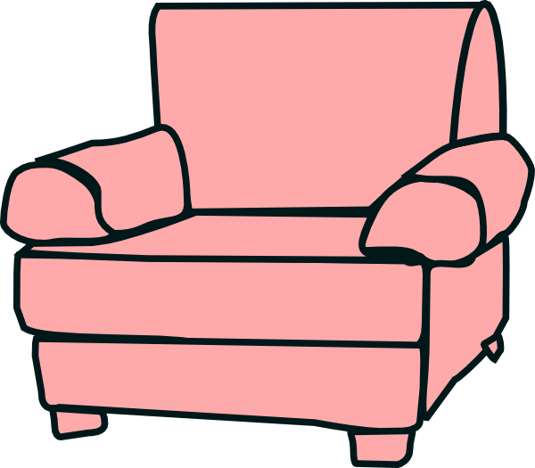 Vector furniture armchair. Clip art at clker