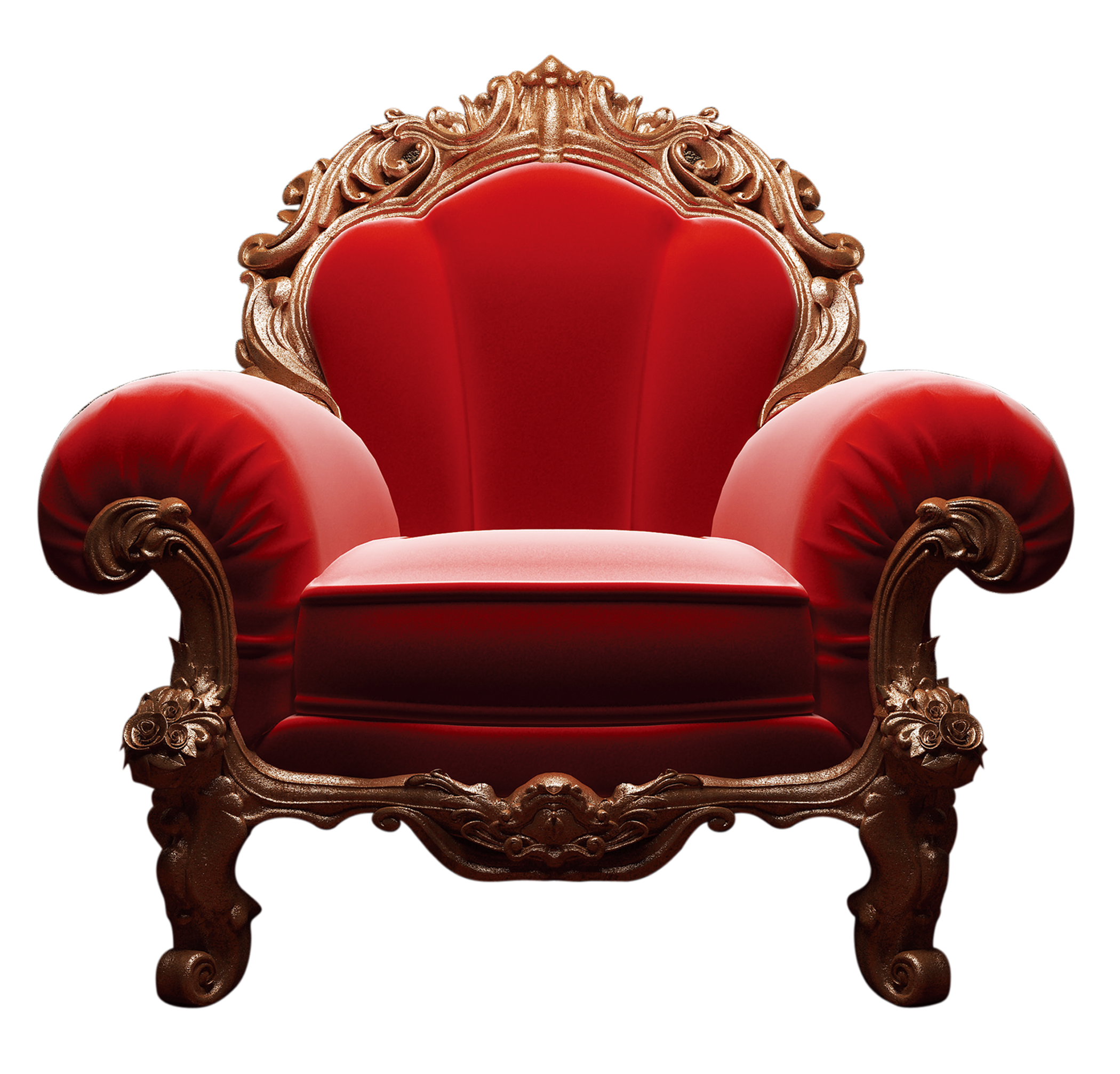 Vector furniture classic. Chair upholstery clip art