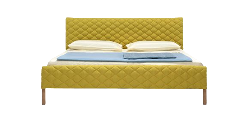 Yellow simmons png element. Vector furniture elements picture free