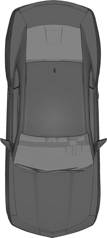 Vector furniture kursi. Free top view png