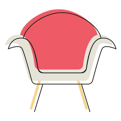 Vector furniture modern. Armchair icon transparent png
