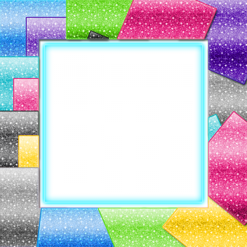 Glitter frame png vectors. Vector sparkles silver svg free library