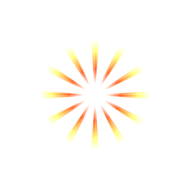 Vector gold. Rays white yellow png