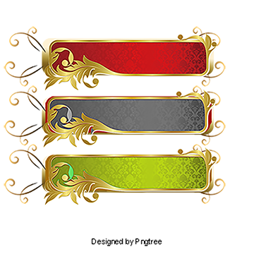 Vector gold paint. Euporean pattern shading frame