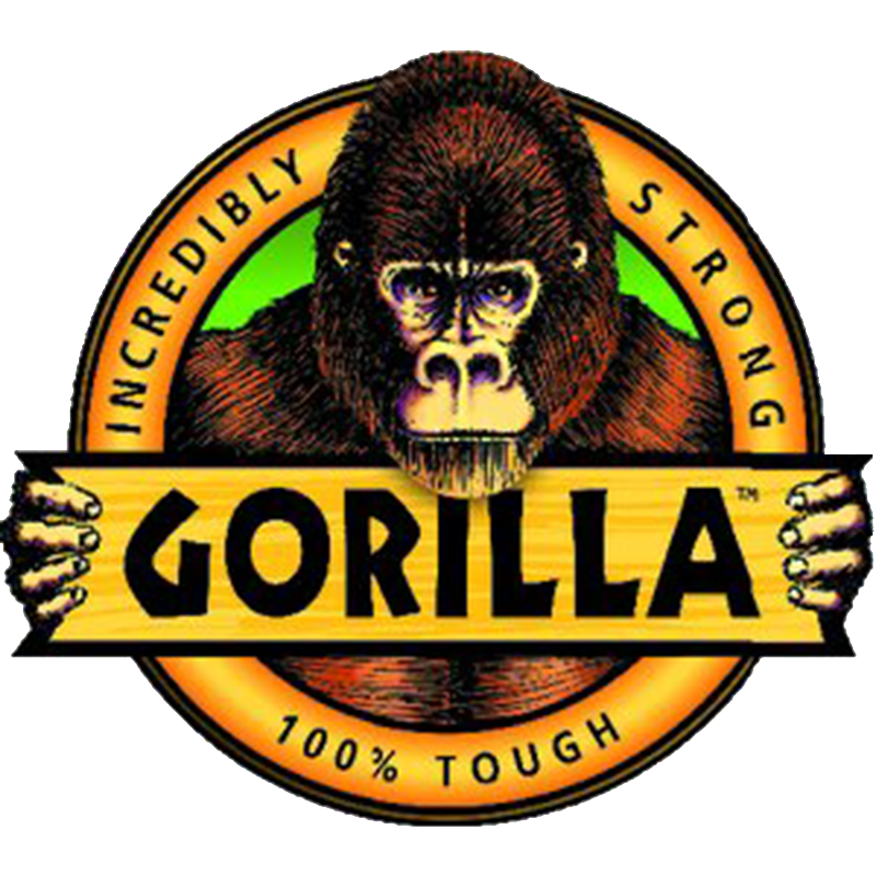 Vector gorilla logo. Suppliers jp corry