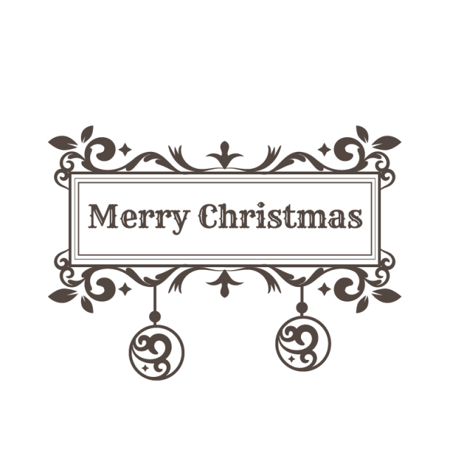 Vector graphics swirls png. Ornamental christmas balls with