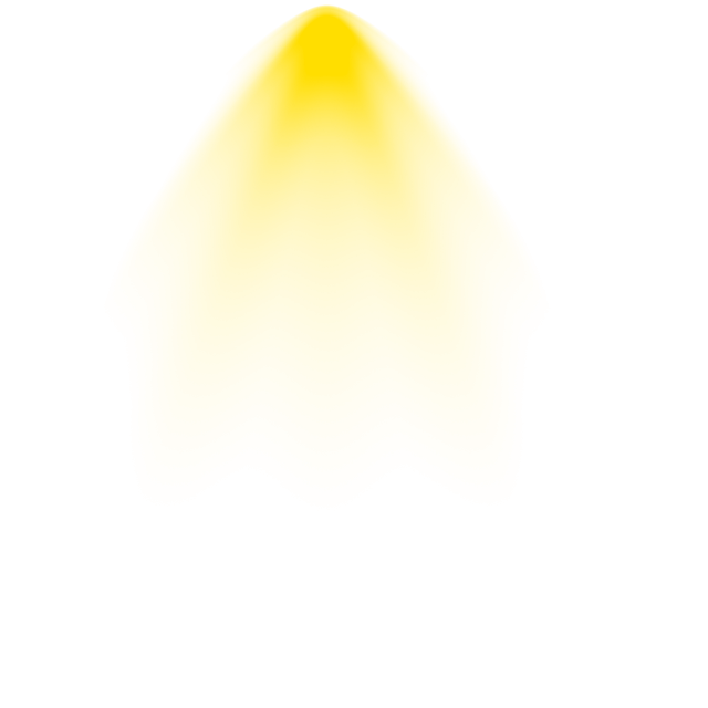 Vector halo ray light. Effects background png yellow