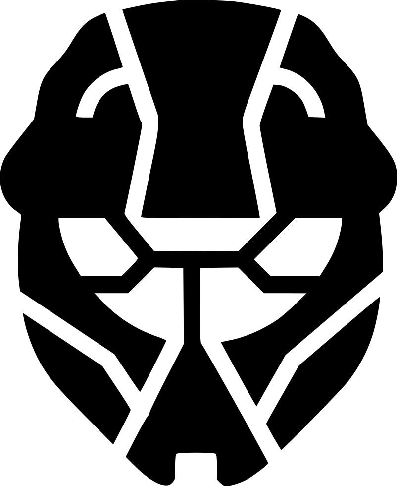 Vector halo svg. Odst png icon free