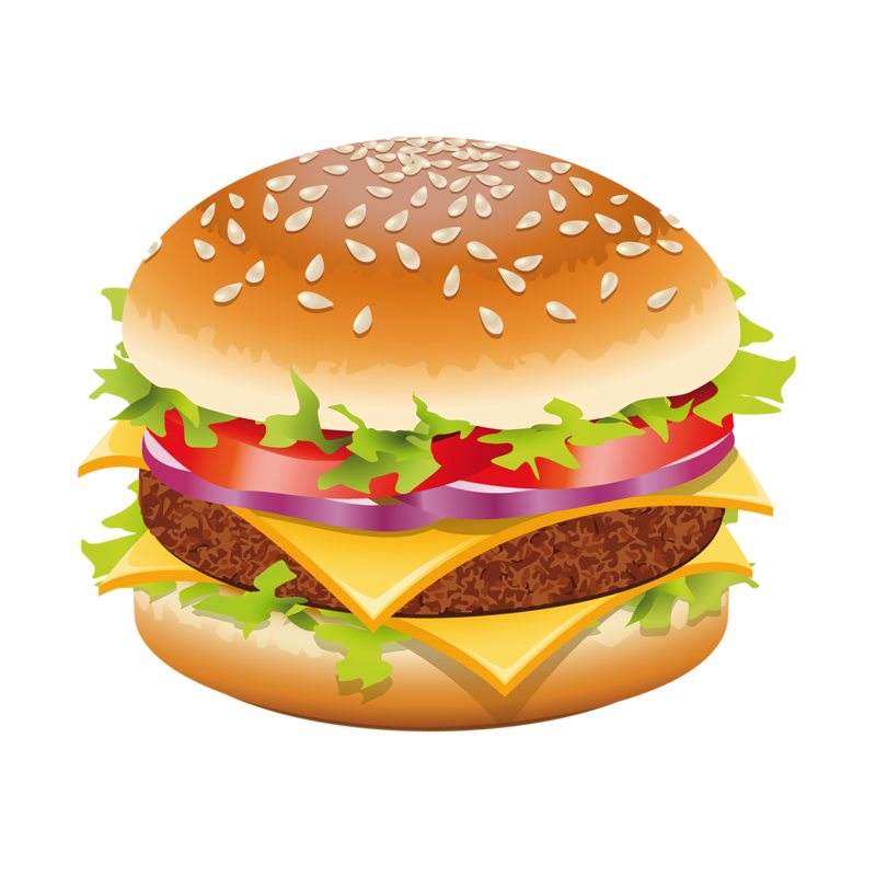Vector hamburger hand drawn. Dd df a