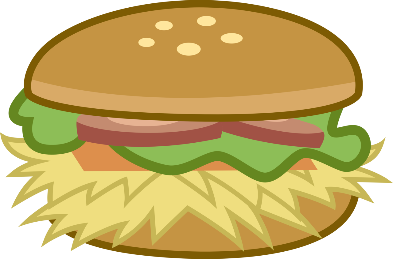 Vector hamburger transparent background. Artist drakizora burger