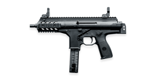 Vector submachine police. Beretta pmx with stock