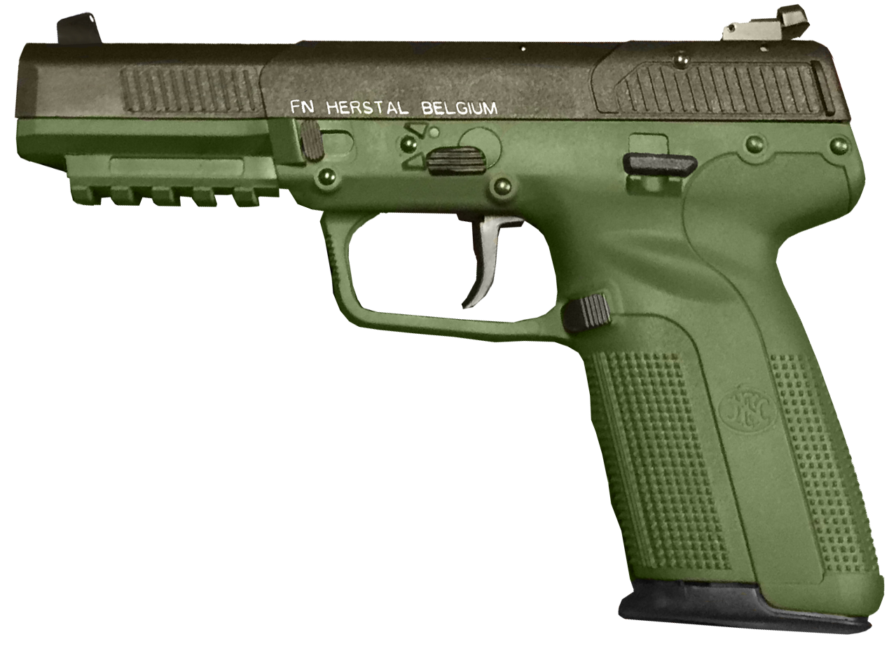 Fn five seven mkii. Vector handguns red dot graphic free