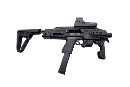 Vector handguns smg. Firearms packages lock load