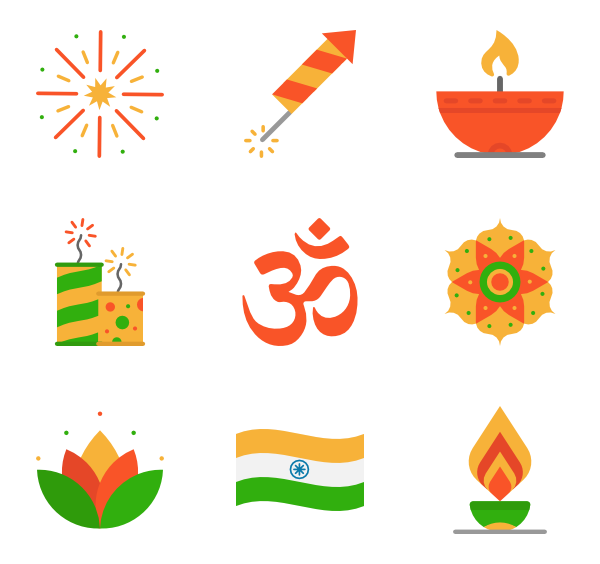 Vector hd diwali. Icons free elements