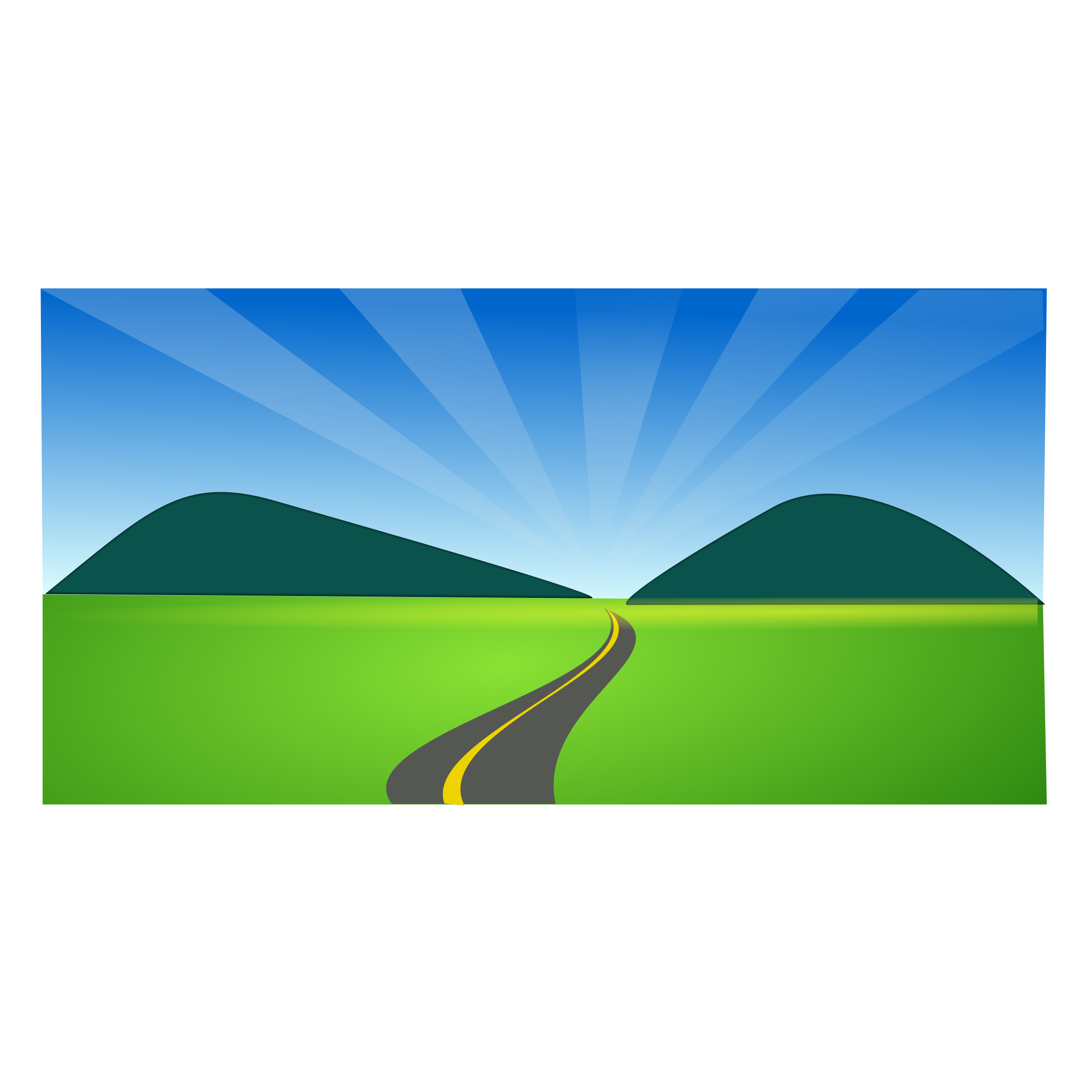 Vector hills countryside. Free cliparts download clip