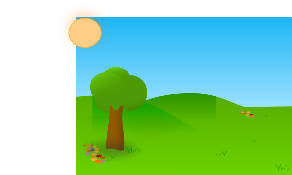 Vector hills nature. Hill png library stock