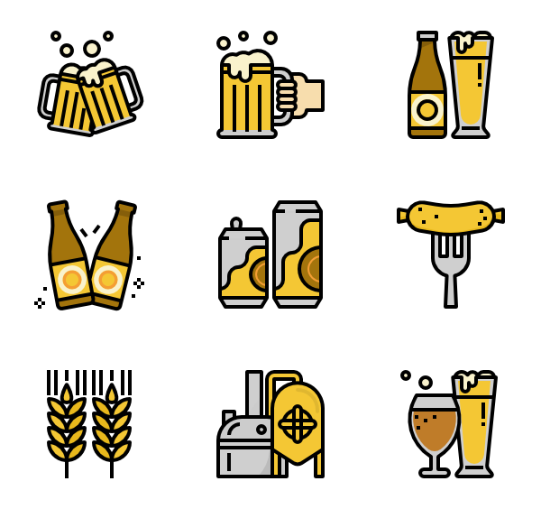 Svg mac vector. Hold icons free beer
