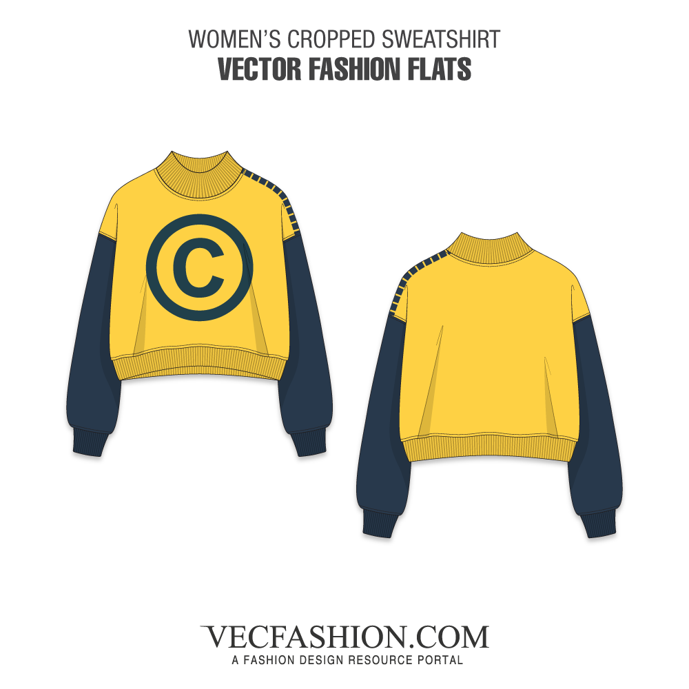 Vector hoodie crew neck sweater. Some handpicked vectors tagged