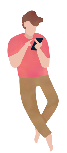 Vector wind painted. Free online boy hand
