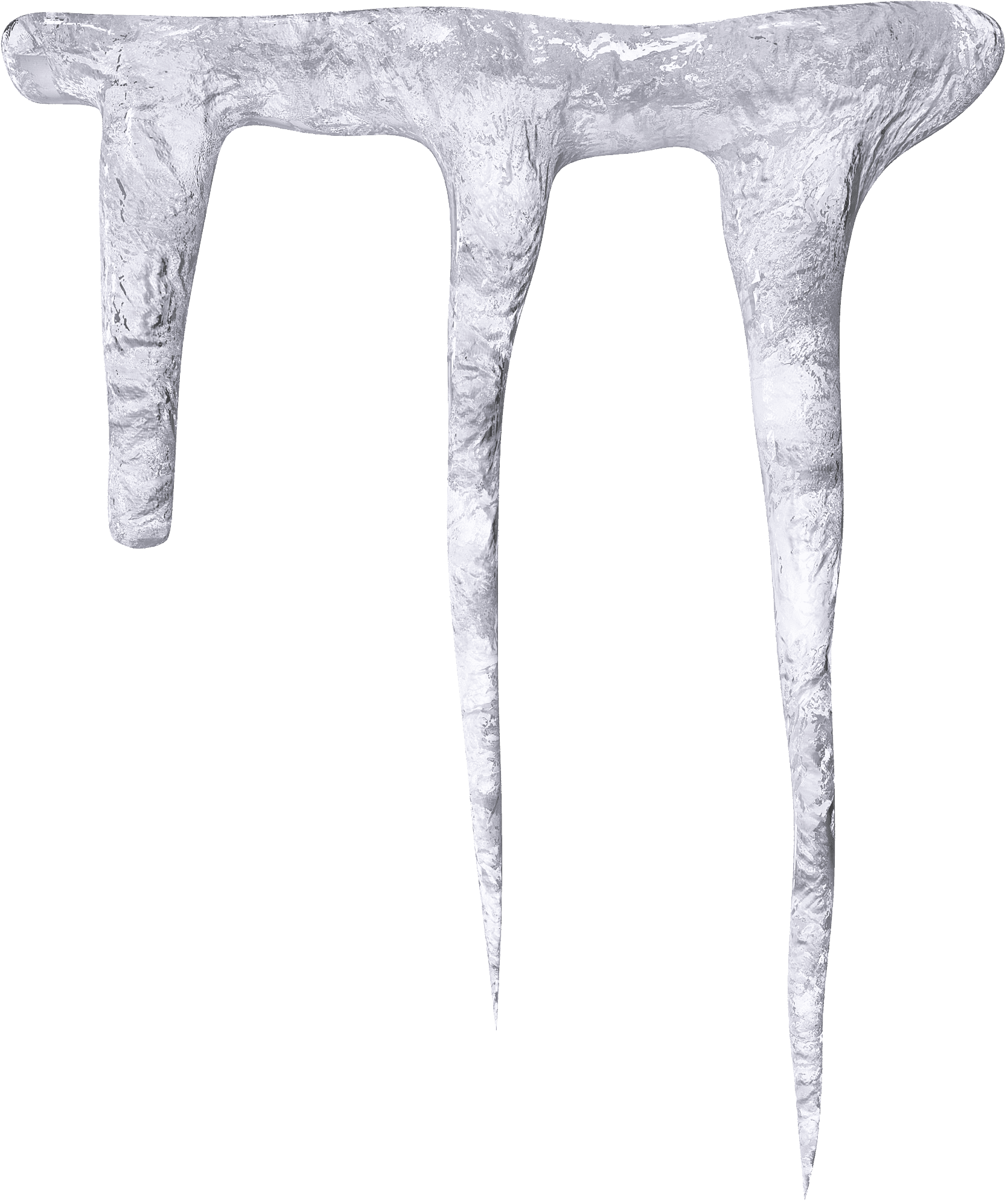 Vector icicles. Cliparts for free