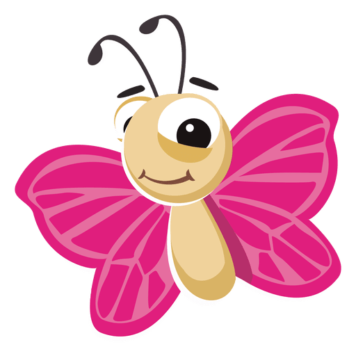 Vector insects cartoon. Download butterfly vectorpicker