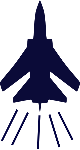 Vector jet army. Fighter clip art