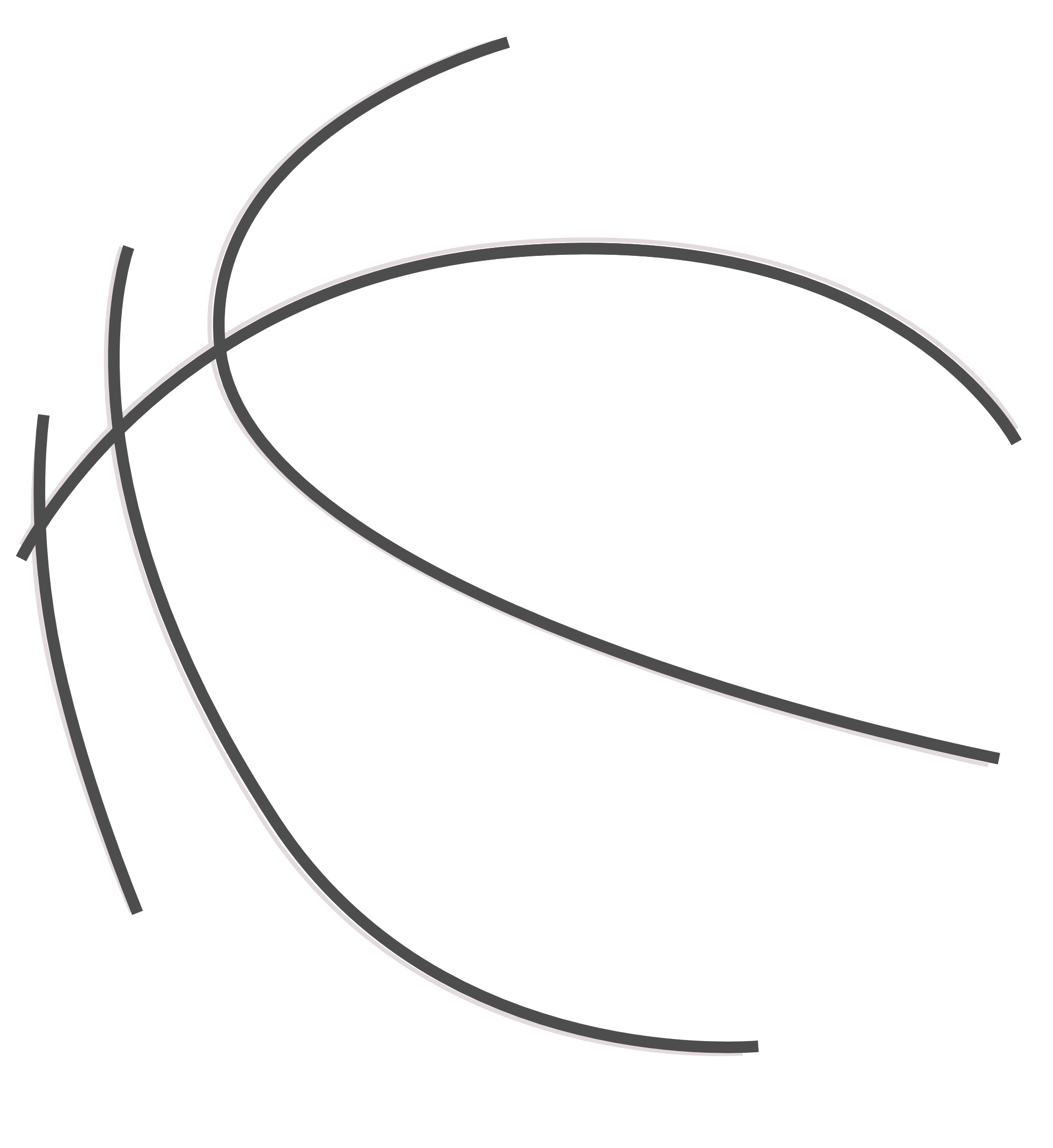 Vector laces basketball. Collection of clipart