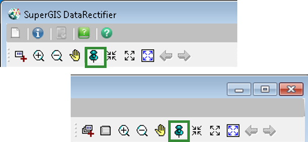 Vector layers geo. Rapid layer rectification click