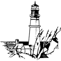 Vector lighthouse silhouette. Download category png clipart