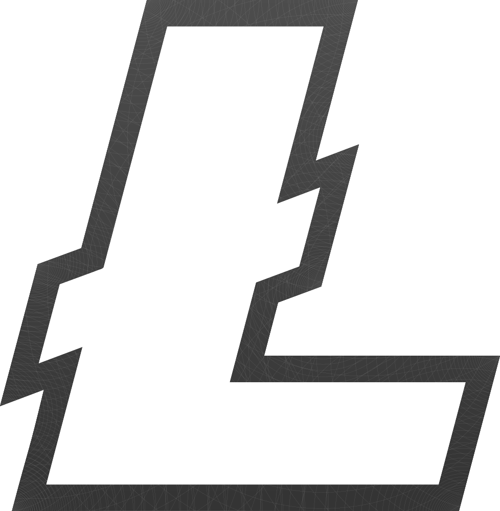 What is litecoin learn. Vector lite coin crypto clipart black and white download