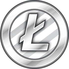 Litecoin ltc ryptocurrency bitcoin. Vector lite coin crypto graphic download